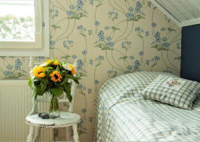 Det blå værelse enkeltsengen