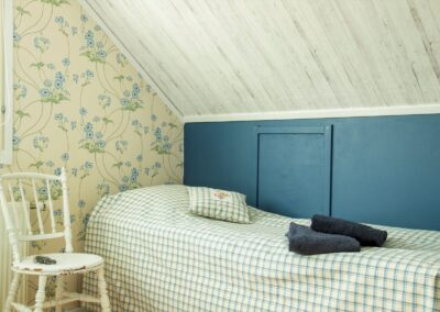 Det blå værelse - enkeltsengen