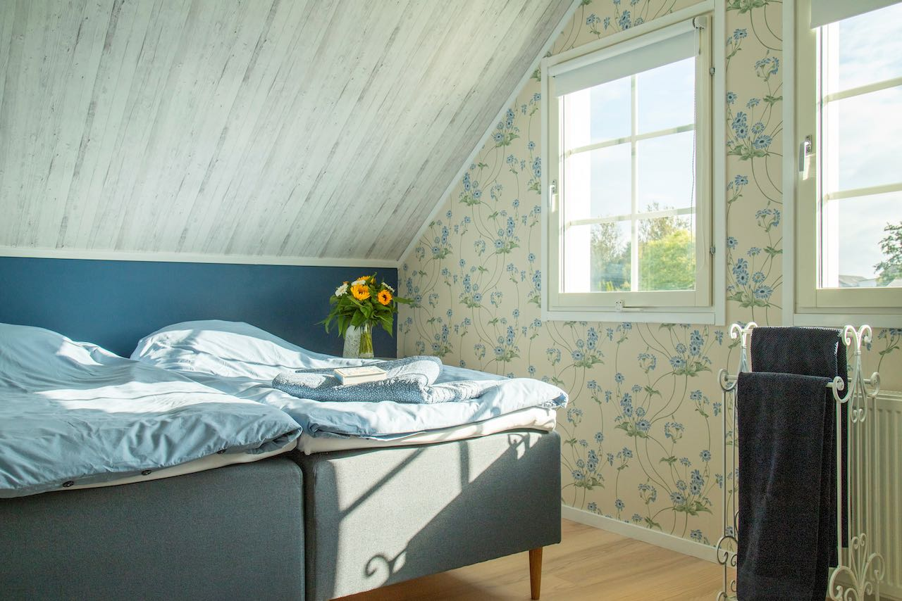 Det blå værelse