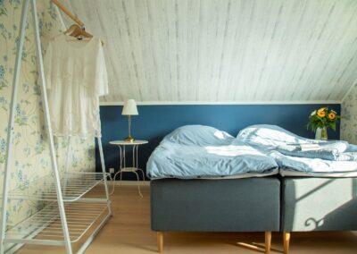 Morgensol i det blå værelse