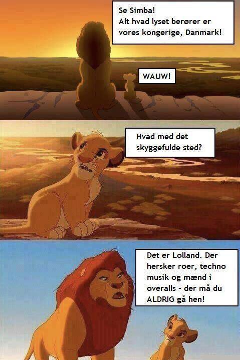 Vits om Lolland se fra Falster